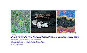 The Show of Shows, Wired Gallery