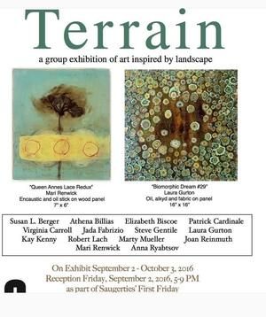 Terrain at Evolve Gallery