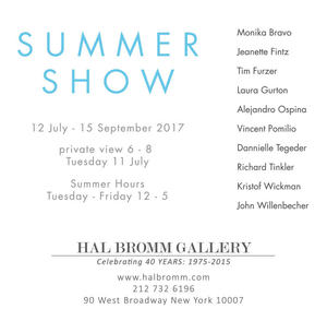 Summer Show - Hal Bromm Gallery NYC