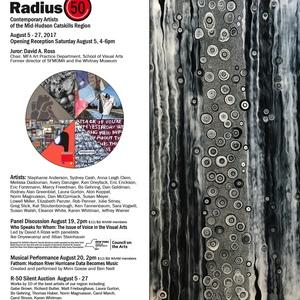 Radius 50, Juror David A. Ross, Woodstock Artists Association and Museum